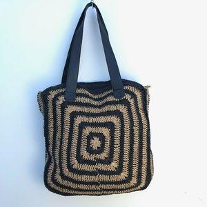 Sun N Sand Woven Large Tote Bag NWT #826